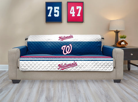 Washington Nationals Furniture Protector with Elastic Straps