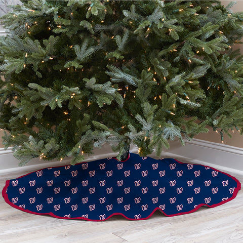 Washington Nationals Christmas Tree Skirt
