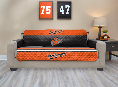 Baltimore Orioles Furniture Protector with Elastic Straps