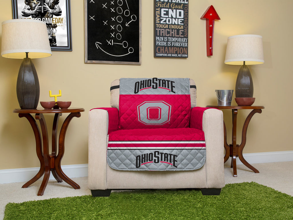 Ohio State University Furniture Protectors with Elastic Straps