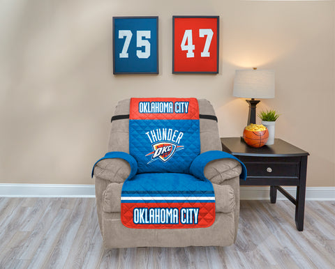 Oklahoma City Thunder Furniture Protector with Elastic Straps