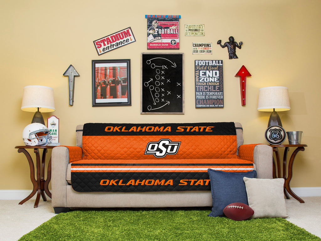 Oklahoma State Furniture Protector with Elastic Straps
