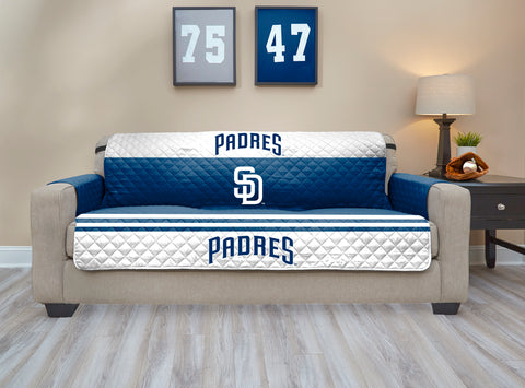 San Diego Padres Furniture Protector with Elastic Straps