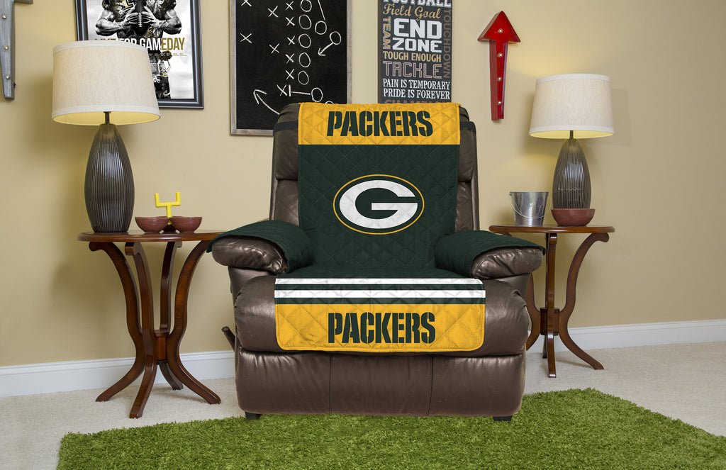 Marvelous Green Bay Packers Furniture Protectors With Elastic Straps