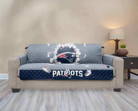 New England Patriots Explosion Furniture Protector with Elastic Straps