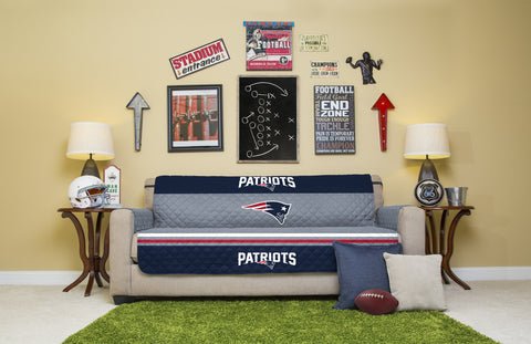 New England Patriots Furniture Protectors with Elastic Straps