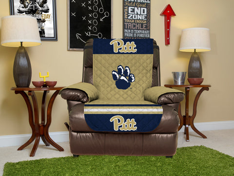University of Pittsburgh Furniture Protector with Elastic Straps