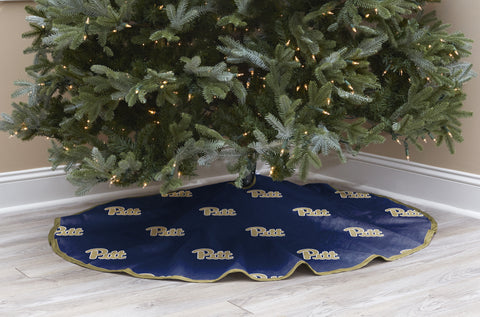 University of Pittsburgh Christmas Tree Skirt