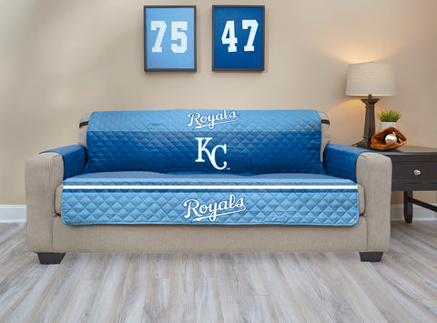 Kansas City Royals Furniture Protector with Elastic Straps