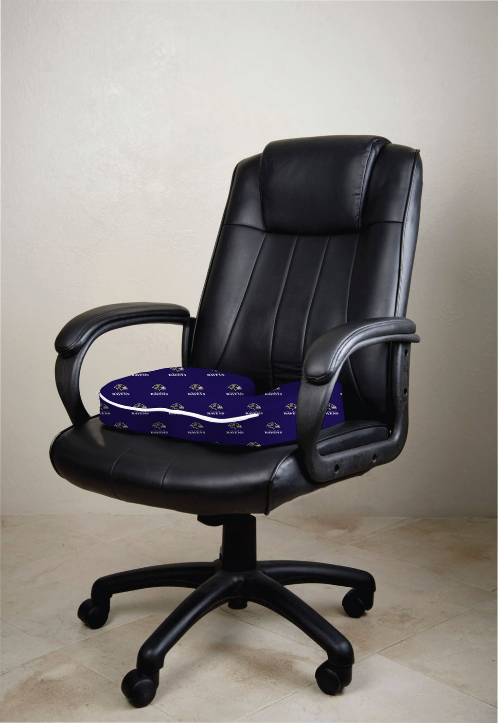 Baltimore Ravens Seat Solution Memory Foam Cushion