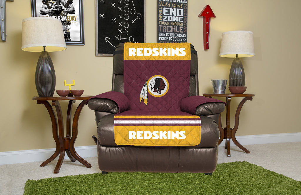 Excellent Washington Redskins Furniture Protectors With Elastic Straps Creativecarmelina Interior Chair Design Creativecarmelinacom
