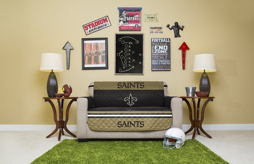 ... New Orleans Saints Furniture Protectors With Elastic Straps ...