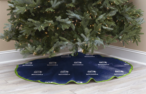 Seattle Seahawks Christmas Tree Skirt