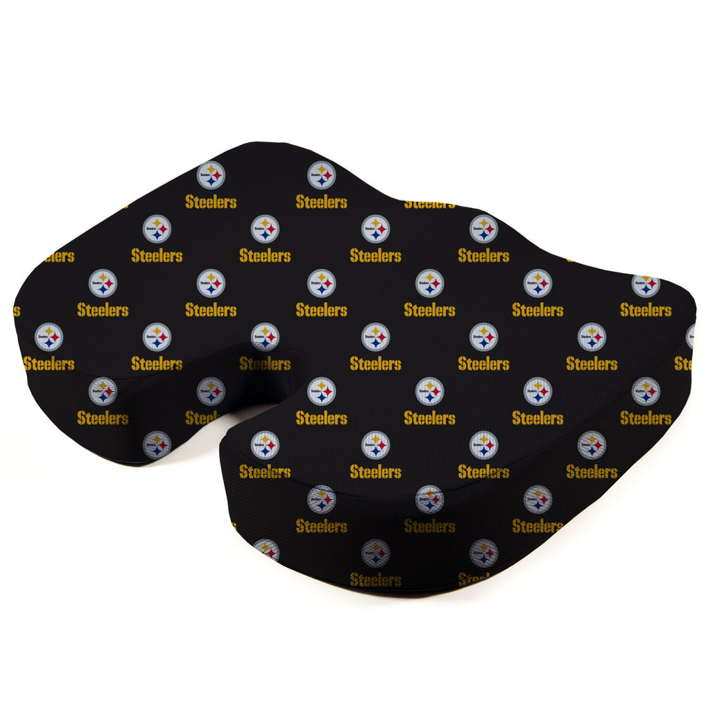 Pittsburgh Steelers Seat Solution Memory Foam Cushion