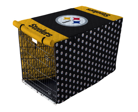 Pittsburgh Steelers Pet Crate Cover