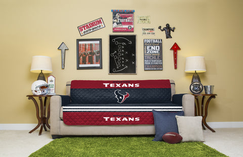 Houston Texans Furniture Protectors with Elastic Straps