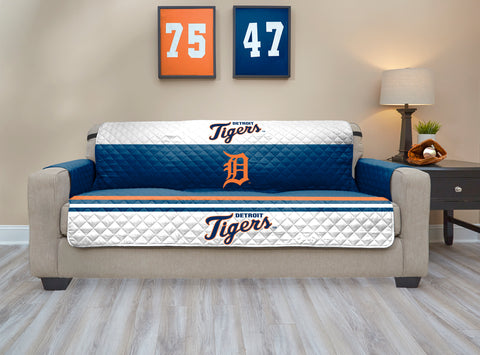 Detroit Tigers Furniture Protector with Elastic Straps
