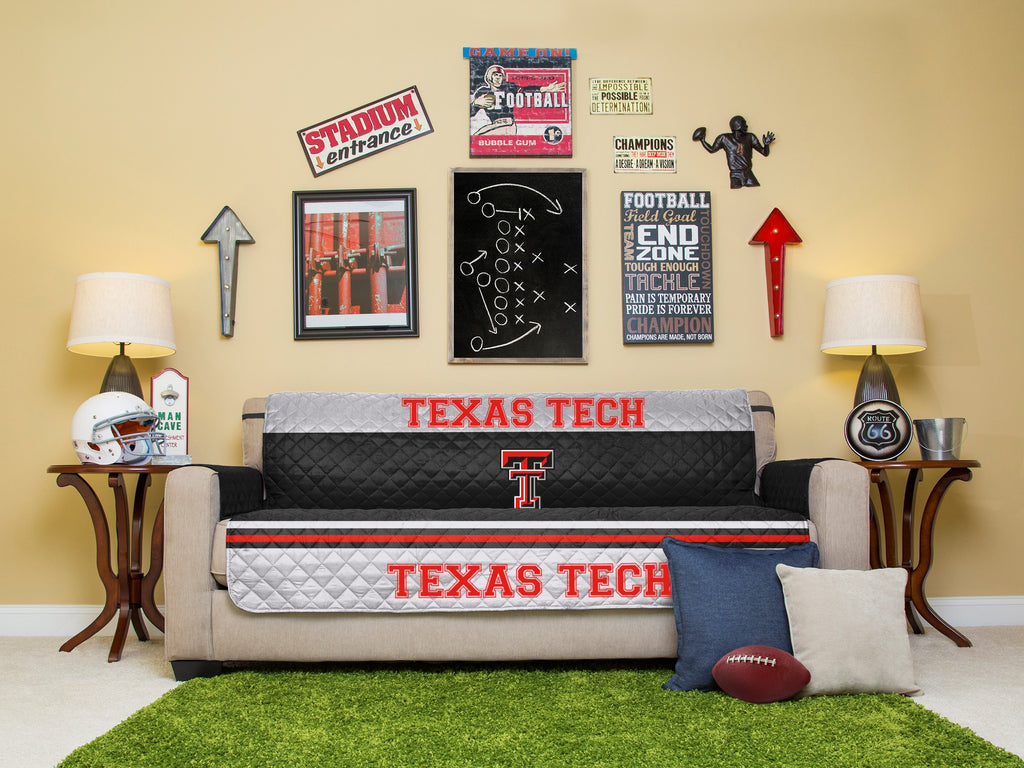 Texas Tech University Furniture Protector with Elastic Straps