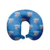 Oklahoma City Thunder Travel Pillow