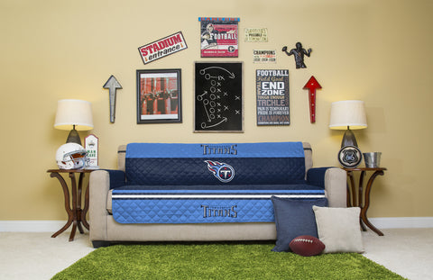 Tennessee Titans Furniture Protectors with Elastic Straps
