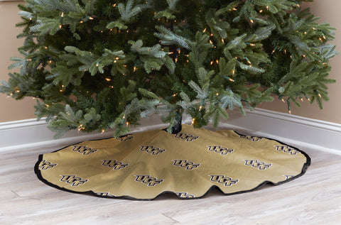 University of Central Florida Christmas Tree Skirt