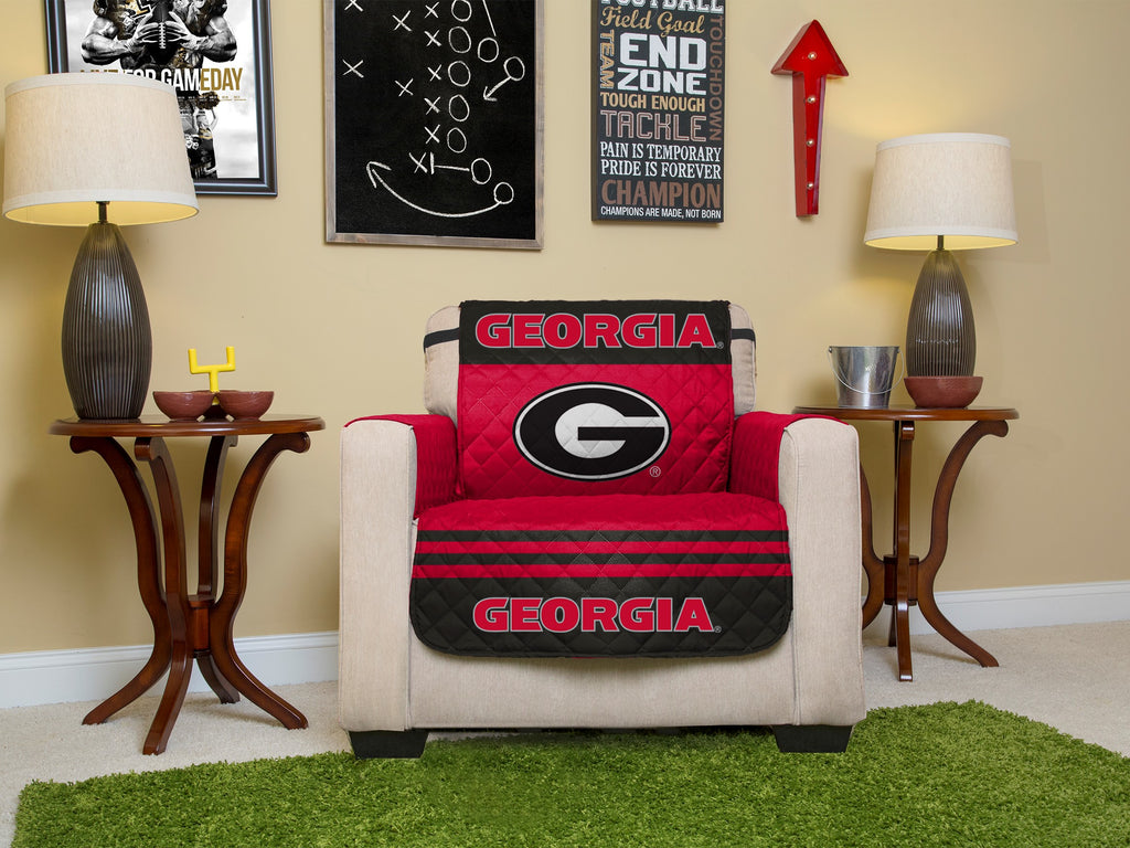 University of Georgia Furniture Protectors with Elastic Straps