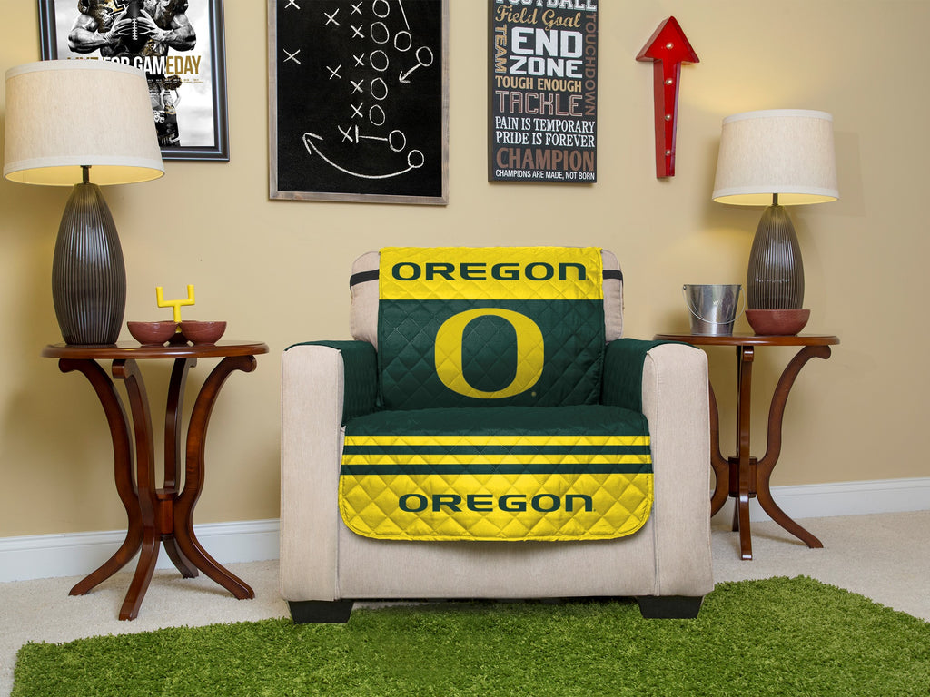 University of Oregon Furniture Protectors with Elastic Straps