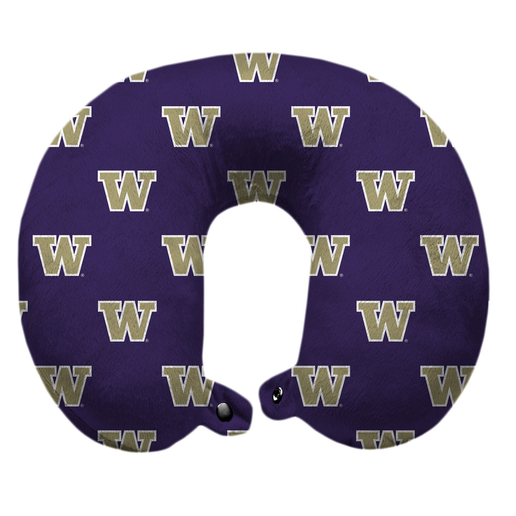 University of Washington Travel Pillow
