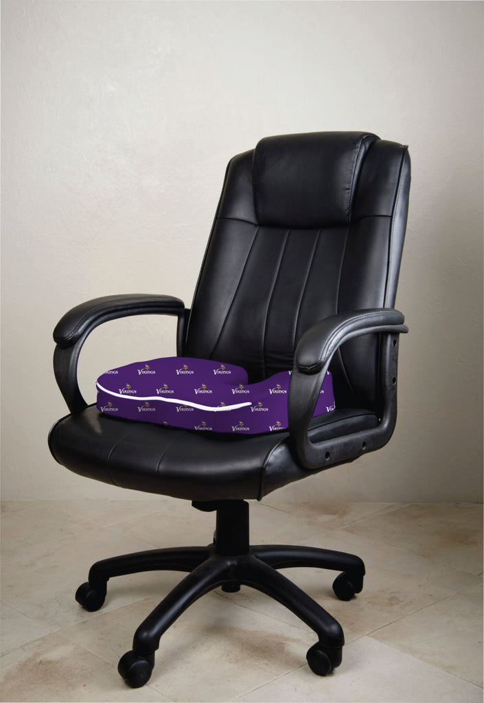 Minnesota Vikings Seat Solution Memory Foam Cushion. Images / 1 / 2 / 3 & Minnesota Vikings Team Shop u2013 Pegasus Sports Shop
