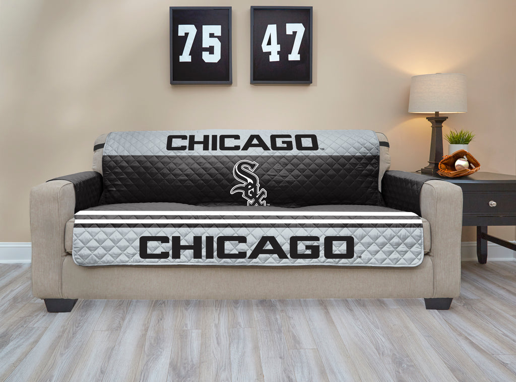 Chicago White Sox Furniture Protector with Elastic Straps