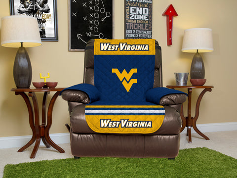 West Virginia University Furniture Protector with Elastic Straps