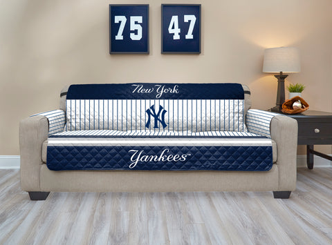 New York Yankees Furniture Protector with Elastic Straps