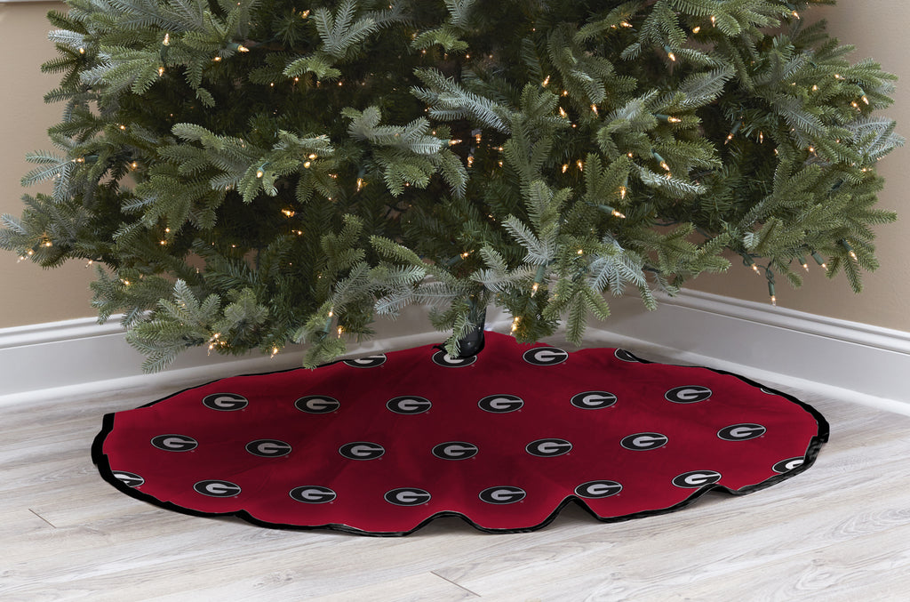 University of Georgia Christmas Tree Skirt