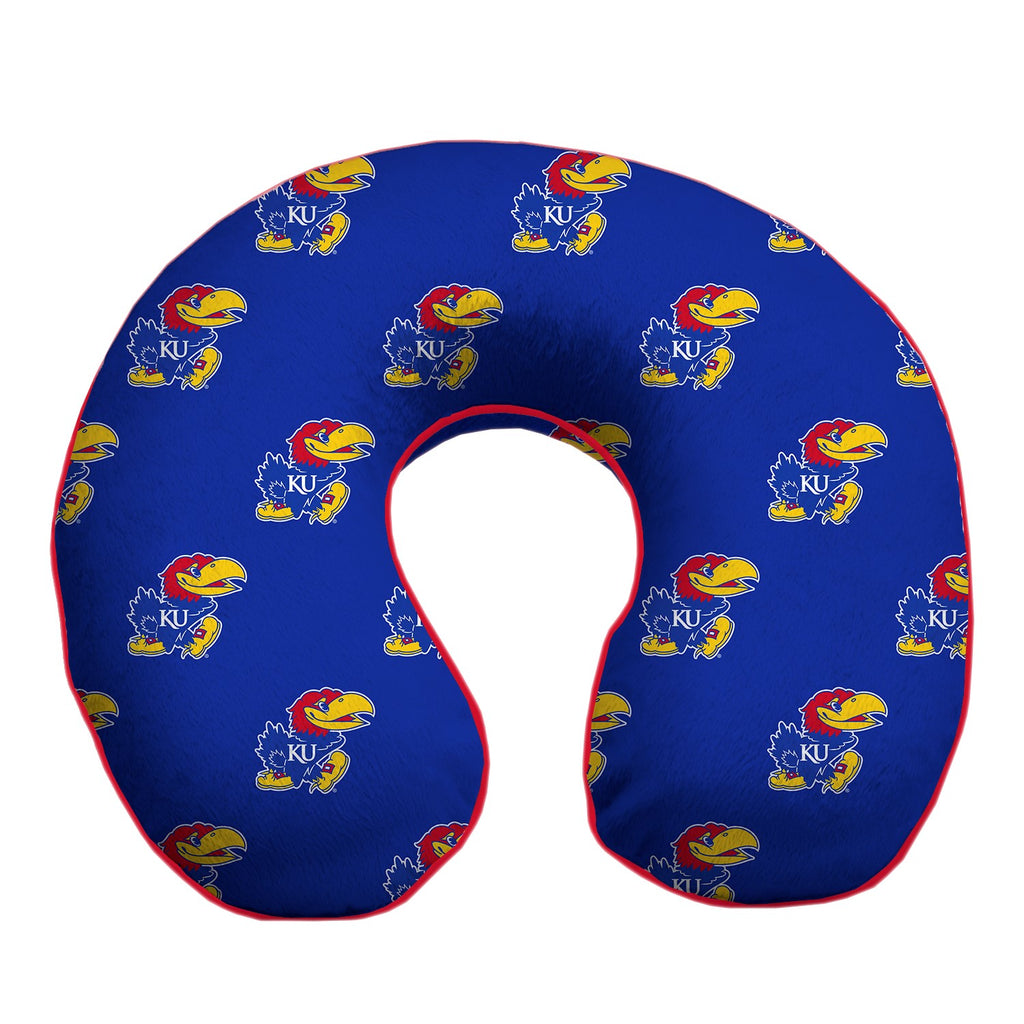 University of Kansas Travel Pillow