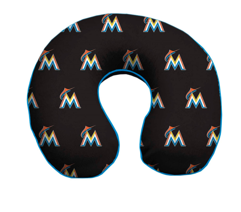Miami Marlins Travel Pillow