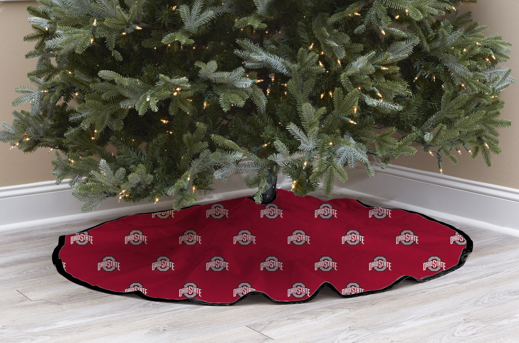 Ohio State University Christmas Tree Skirt
