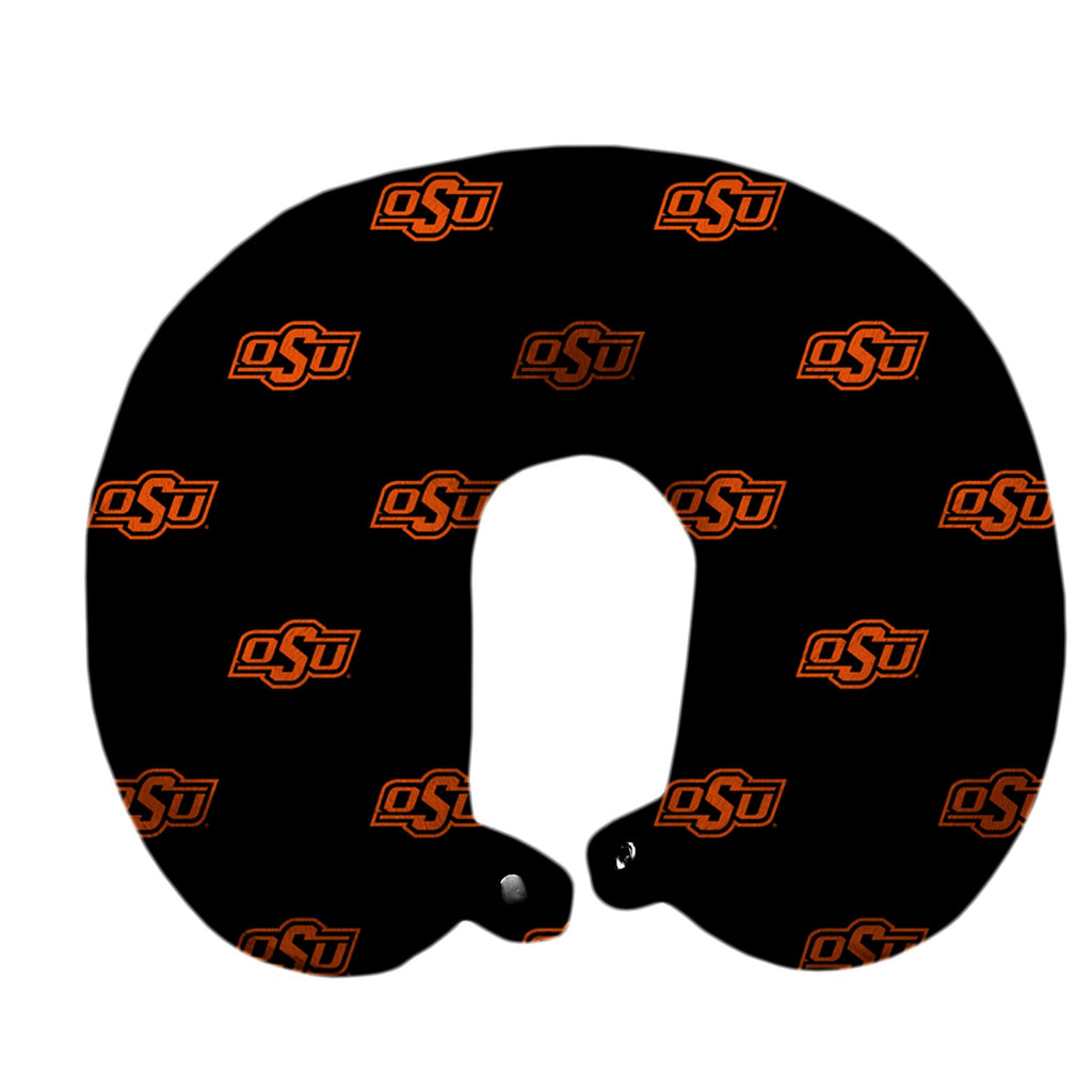 Oklahoma State University Travel Pillow