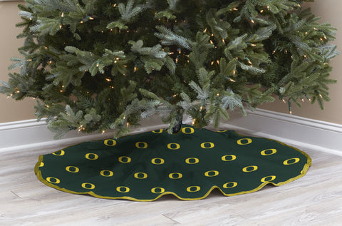 University of Oregon Christmas Tree Skirt
