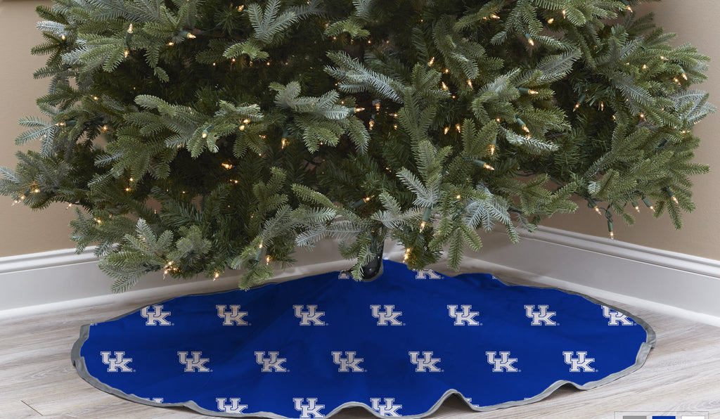 University of Kentucky Christmas Tree Skirt