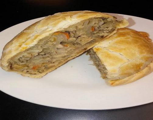 Chicken Pastie - Coconut Oil - Uncle Peter's Pasties