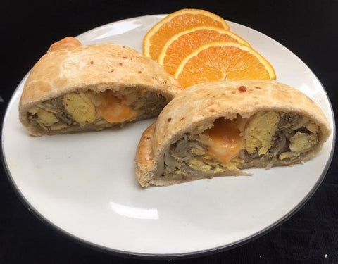 Sausage, Egg  & Cheese Pastie