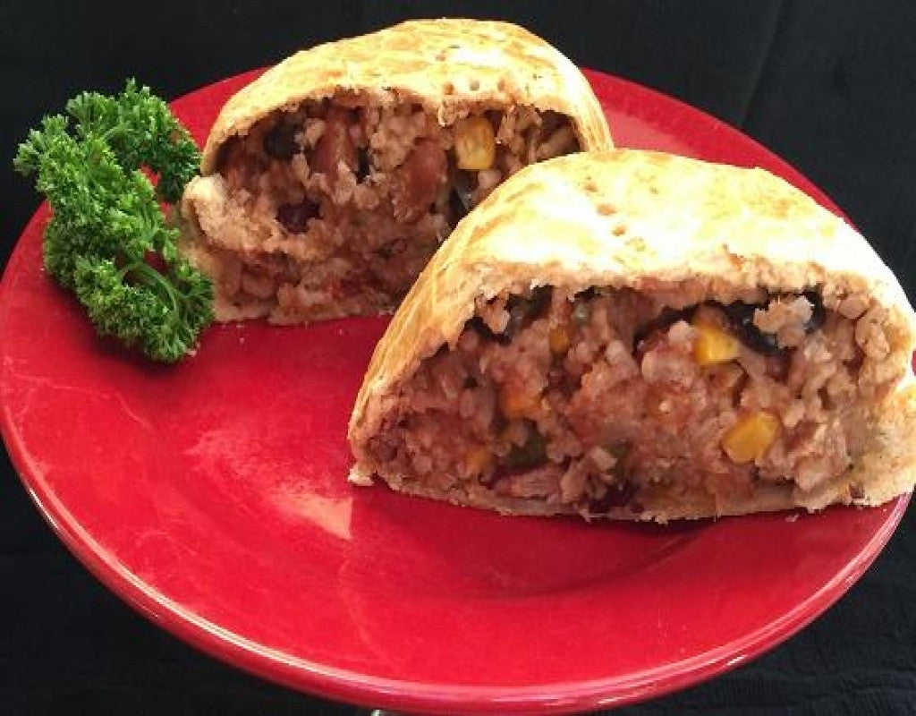 Southwestern Pastie - Coconut Oil - Uncle Peter's Pasties
