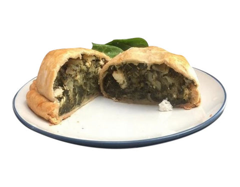 Spinach & Feta Pastie - Uncle Peter's Pasties