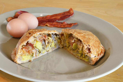 Bacon, Egg & Cheese Pastie