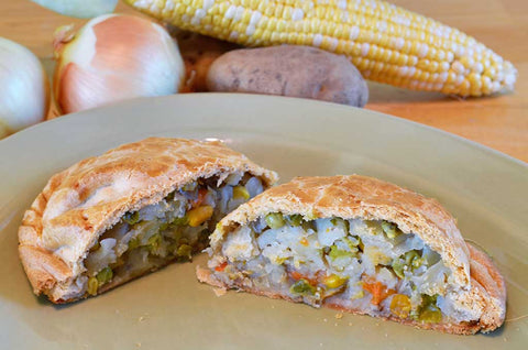 Vegetable Pastie - Coconut Oil - Uncle Peter's Pasties