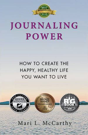 Journaling Power  - Paperback -Kindle -Audio - A Journaling For The Health Of It® Book