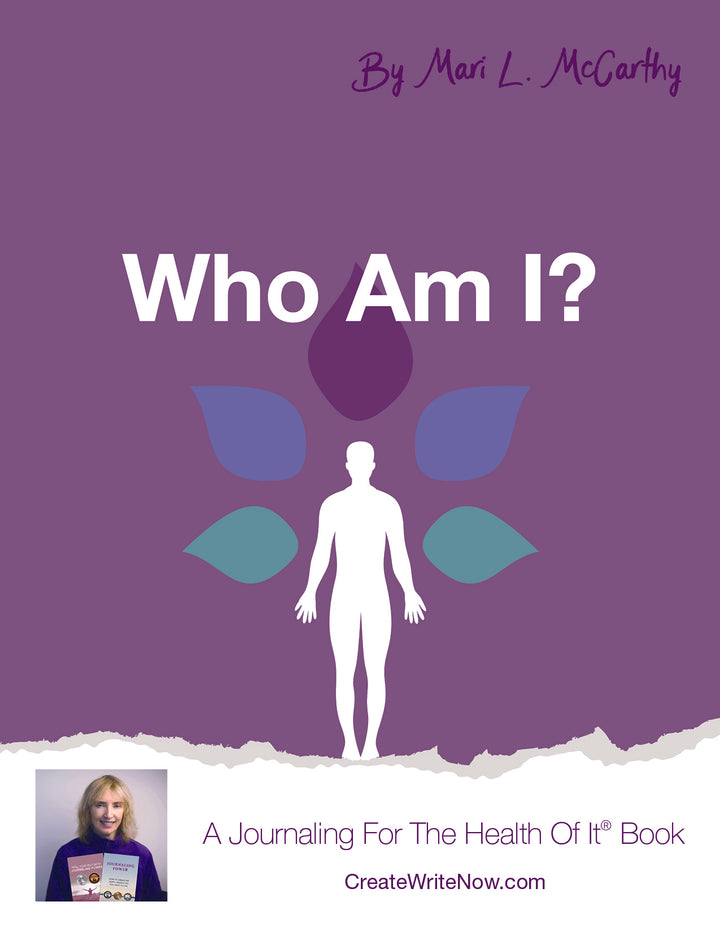 Who Am I? - Instant Download - A Journaling For The Health Of It™ Book