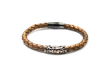 Rusted Gold leather bracelet