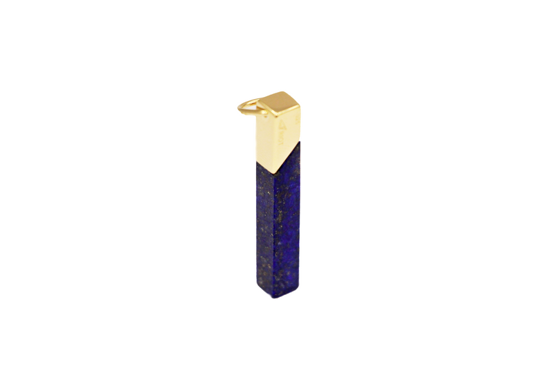 Lapis-925 silver plated gold