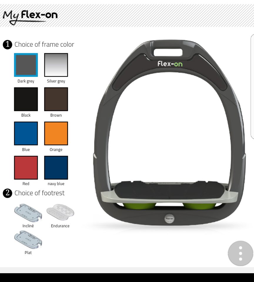 Flex-on Composite Stirrup